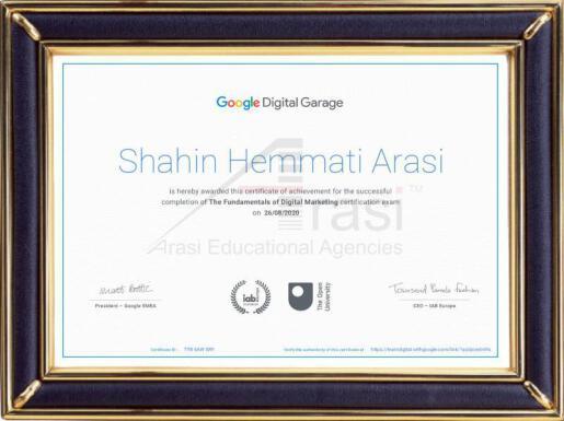 Shahin Hemmati Arasi (Google Approved)