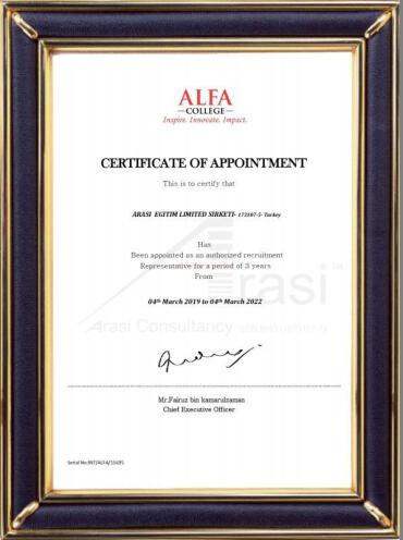 Alfa College - Turkey